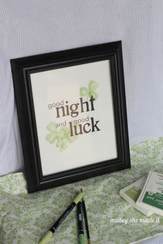 FREE printable and craft tutorial for St. Patrick's Day!