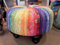 Make Your Own Tuffet Class at The Quilt Store