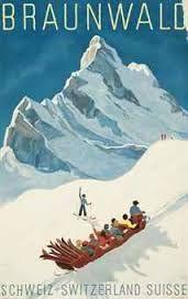 Vintage Ski Poster Braunwald