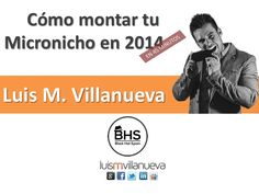 Montando micronichos rentables en 2014 - Luis M. Villanueva - by BlackHatSpain via slideshare