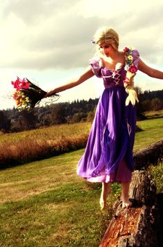 One of my fab pics from the photo shoot (me) Tangled Costume, Tangled Party, Disney Fan Art, Disney Love, Princess Rapunzel, Disney Princess, Princess Photo, Pixie, Fairy Tales