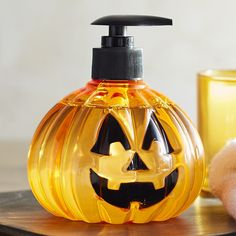 Jack-o'-lanterns can provide an element of surprise. So add some unexpected…