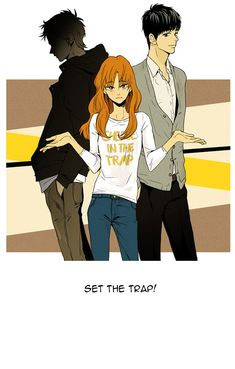"The popular webcomic that was turned into a kdrama. ""Cheese in the Trap"" by Snookki on Webtoons.com"