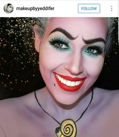 Ursula make up. Cred