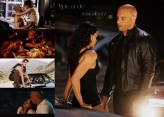 Fast and Furious. Fast and Furious 6. Vin diesel. Michelle Rodriguez. Dom and Letty. True Love. You dont give up on family. Ride or Die. I love this series and the newest one was amazing!