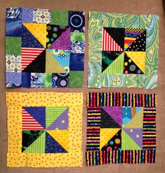 Quilting Quietly: Gypsy Wife BOM for February