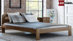 Das Holzbett KBD 01 Aus Massiven Holz Passt Besonders Gut Zu Klassisch Oder  Auch Zu Modern