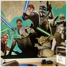 Star Wars™ The Clone Wars Mural