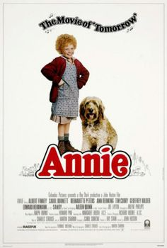 Broadway musicals:  Annie  (1977) I'm not the biggest fan, but I always say that in order to get the best outcome, you have to explore everything.  Perhaps I'll leave this one till last, in case I don't get round to it.  To be fair, I've seen it a million times as a child, I remember it fairly well.