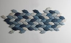 Luffa acoustic wall tiles by Mauricio Alffonso.