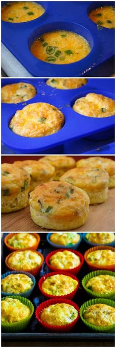 Egg Muffins Recipe for a Grab and Go Breakfast - I love Breakfast for Dinner.meals. These would be great anytime.