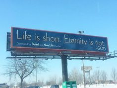 'Life is Short. Eternity is Not': Wisc. Churches Counter Billboard Claiming 'There is No Afterlife'