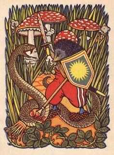 Rudolf Mates ~ from A Forest Story by Josef Kozisek (Czechoslovakia, 1929) ~ via A Journey Round My Skull