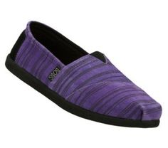 Women's Skechers Bobs World - Hand Hold - Purple