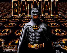 Retro game Batman for the Amiga
