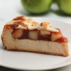Apple Pie Cheesecake Recipe by Tasty
