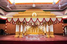 The Best Flowers For Mandapam Decorations!   Marigold Tales