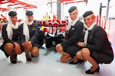 Etihad Airways Flight Attendant Uniforms ~ Cabin Crew Photos