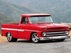 #trucks Chevy C10, 1966 Chevy Truck, Chevy Pickups, Gmc Trucks, Hot Rod Trucks, Chevrolet Trucks, Cool Trucks, Chevy Trucks Older, Lifted Chevy Trucks