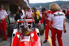James Hunt and  Niki Lauda (Austria 1977)