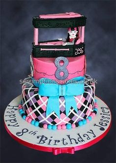 monster high coffin cakes - Google Search