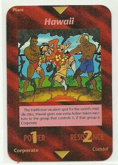 Illuminati Card Game -Hawaii