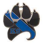 K9 Skeleton Challenge Coin w Working Dog Prayer Oath | eBay