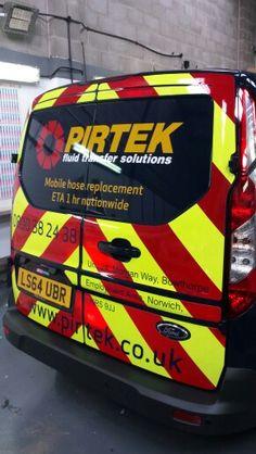 PIRTEK vehicle reflective vinyl
