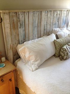 build a simple pallet headboard - Do It Yourself Kopfteil Designs