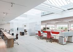Vitra Workspace opens in a Gehry factory building