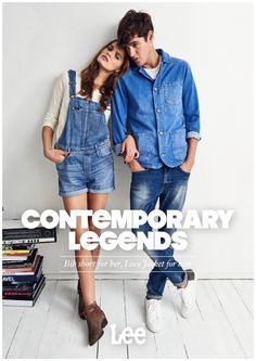 Isaac Carew Lets Loose in Denim for Lee Spring/Summer 2015 Campaign