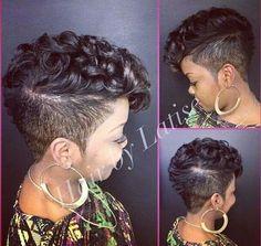 Bomb Hair Cut