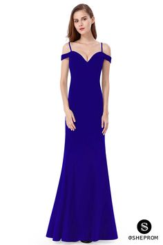 Only $52, Royal Blue Off-the-shoulder Sleeveless Long Evening Party Dress #EP07017SB at #SheProm. SheProm is an online store with thousands of dresses, range from Prom,Formal,Party,Evening,Blue,Long Dresses,Off the Shoulder Dresses and so on. Not only selling formal dresses, more and more trendy dress styles will be updated daily to our store. With low price and high quality guaranteed, you will definitely like shopping from us. Shop now to get $10 off!