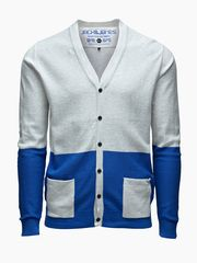 Radiation Cardigan from JACK & JONES. Colour blocking is one of spring's hottest trends.