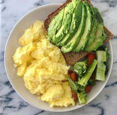 Easy Healthy Breakfast Ideas & Recipe to Start Excited Day Healthy Meal Prep, Healthy Breakfast Recipes, Healthy Snacks, Healthy Eating, Healthy Recipes, Breakfast Ideas, Breakfast Toast, Diet Recipes, Protein Breakfast