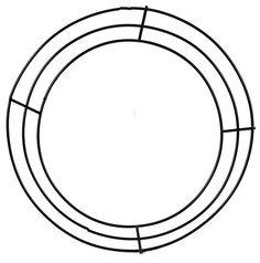 3 Wire Black Wreath Frame measuring 8 inches across outer diameter. Add deco mesh, burlap, ribbons, florals, etc. to make your own wreath! Frame Wreath, Diy Wreath, Wreath Ideas, Make Your Own Wreath, Black Wreath, Wire Wreath Forms, Wreaths And Garlands, 50th Wedding Anniversary, Trendy Tree