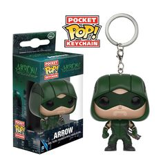 Funko Arrow Pocket POP The Arrow Vinyl Keychain Figure - Radar Toys