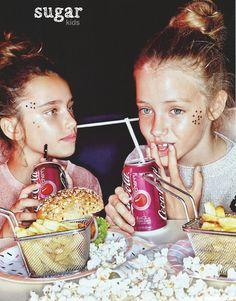 Violeta y Laura de Sugar Kids para Vogue