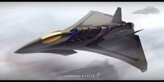 """Fighter jet design. Nicknamed """"Flying Squirrel"""" because why not? Enjoy! -KT2012 Blog post:"""