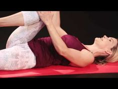 Stretch and strengthen your abs at the same time with a Supine Twist. In this video, fitness expert Kristin McGee demonstrates the proper way to get into this relaxing and powerful pose. | Health.com