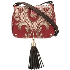 9a84186becf Xaa embroidered crossbody bag (2.517.375 IDR) ❤ liked on Polyvore featuring  bags