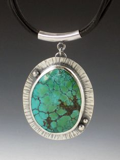 MicheleGradyDesigns - Large Turquoise Necklace