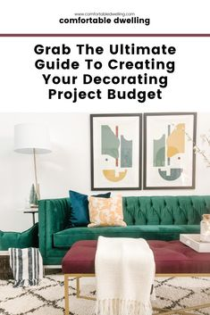 This short read could save you thousands of dollars on your next home decorating project! Sharing the best tips from an interior designer - Heather Prestanski of Comfortable Dwelling. Click through to find out how you can decorate your home on a budget!   Heather Prestanski   diy decor projects for the home   how to save money decorating your home  diy home decor   #decoratingbudget   chatham kent ontario   #interiordesigner #budgetguide #comfortabledwelling #windsor #windsoressex Teal Living Rooms, Family Dining Rooms, Desk In Living Room, Colourful Living Room, Formal Living Rooms, Chatham Kent, Home Styles Exterior, Interior Design Guide, Traditional Dining Rooms