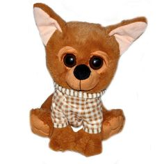 Brown chihuahua cuddly 25 cm order the stuffed animals store.