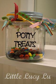 potty training treat incentive