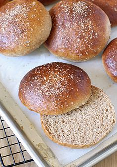 Standing on the homemade soapbox again... I have already shared with you my go-to recipe for homemade hamburger buns , but every once i...