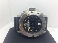 Men's Panerai Luminor Submersible 1000m Watch PAM243 L series 2009