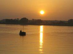 Pôr do sol no Delta do Parnaíba - Tutóia - Maranhão - Brasil