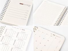 2016 Year Weekly Planner Calendar Diary Day by TheBigCalendar