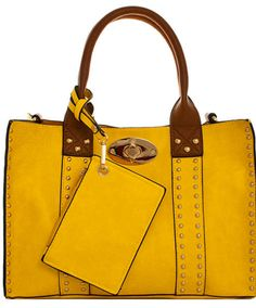 2 In 1 Satchel Bag with Long Strap